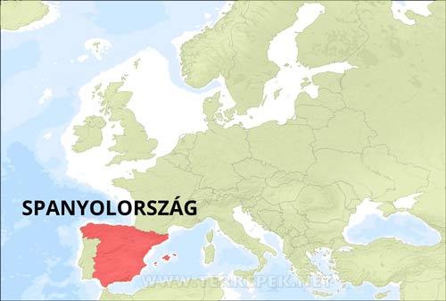 spanyolország térkép Spanyolország térképek